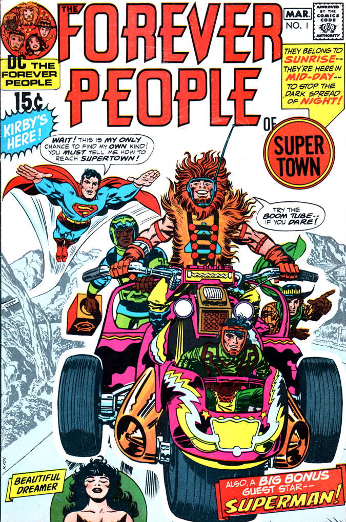 What was the Best Decade Overall for Comics in the Last Century? ForeverPeople1Cover_sml