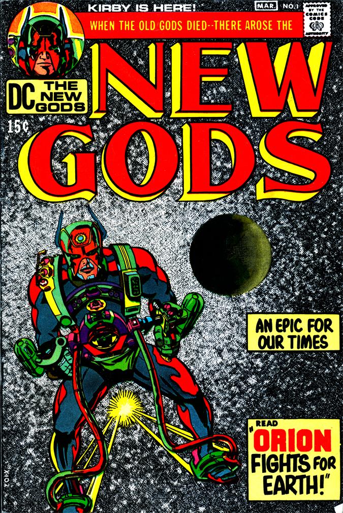 Image result for New Gods # 1