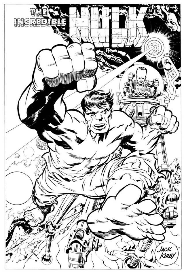 Hulk Marvelmania poster (1969)