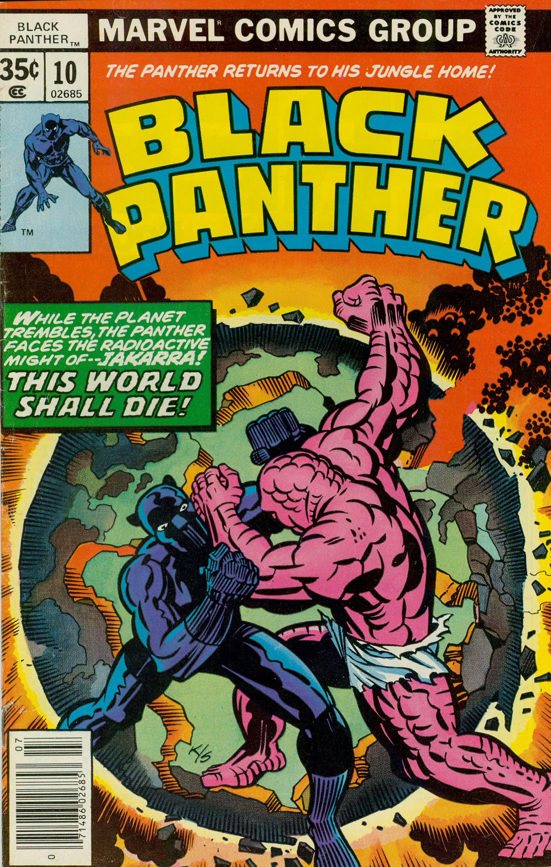 Black Panther 10 Cover Kirby Dynamics