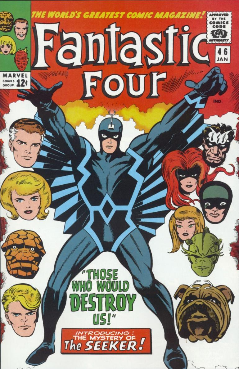 Classic Fantastic Four Logo