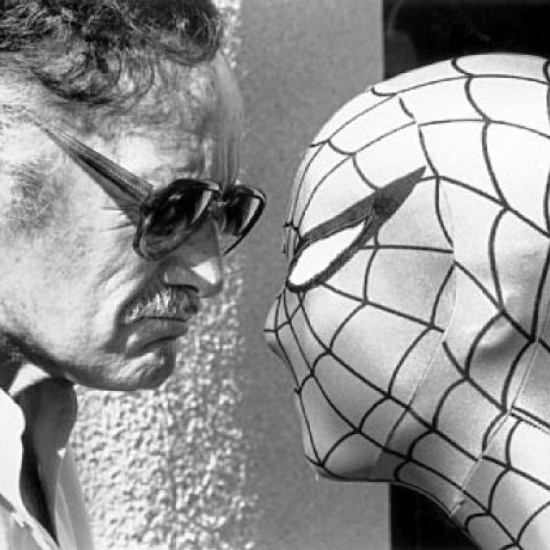Stan-Lee-Spider-Man-younger