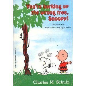 youre-barking-up-the-wrong-tree-snoopy