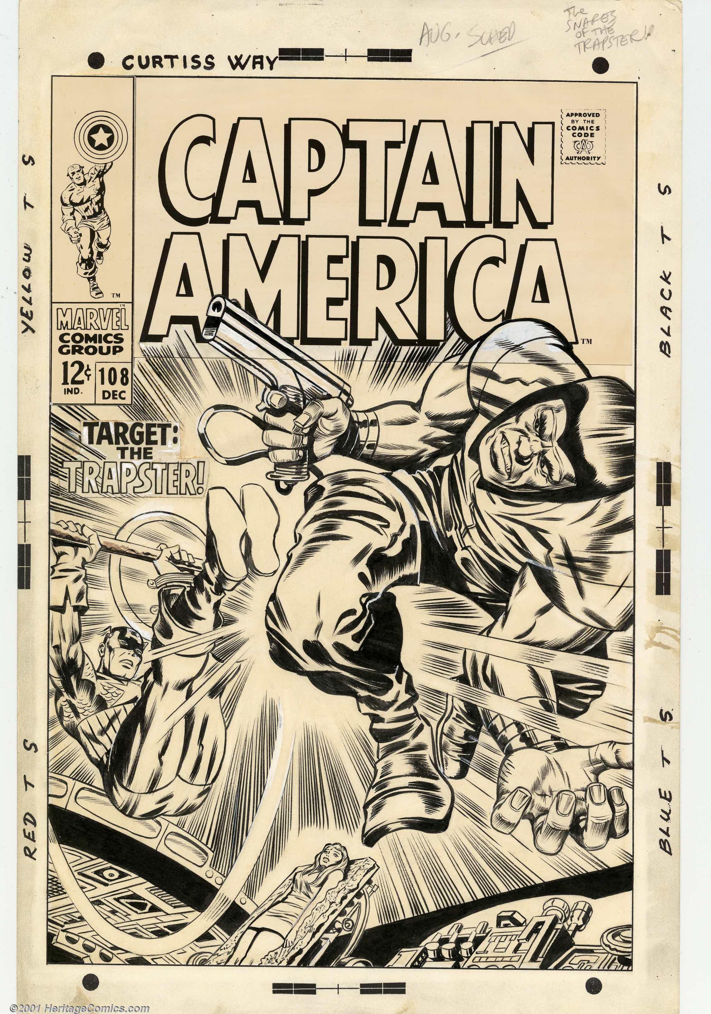 The Future     Jack Kirby Original Art ScansJack Kirby Art