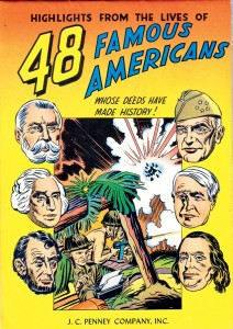 1947 - 48 Famous Americans cover