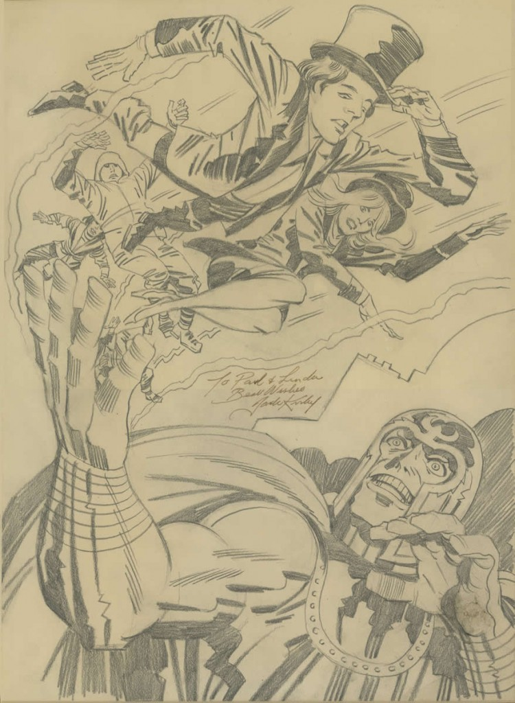 1976 - Wings and Magneto pencil art