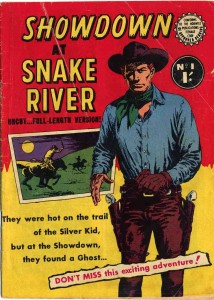Showdown at Snake River - Front Cover