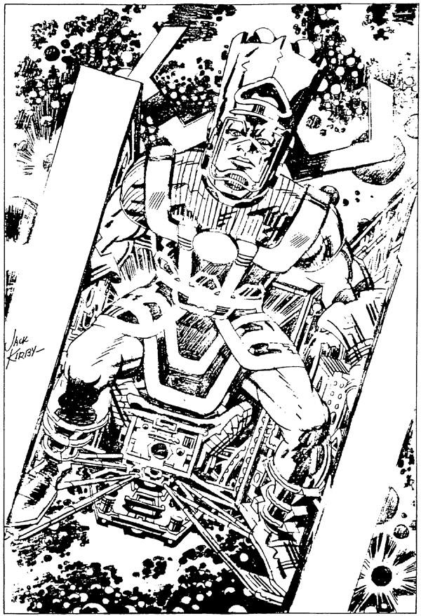 Marvelmania Portfolio: Galactus