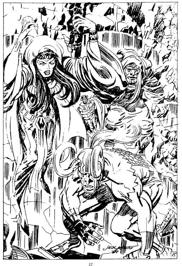 Marvelmania Portfolio: Loki & Karnilla