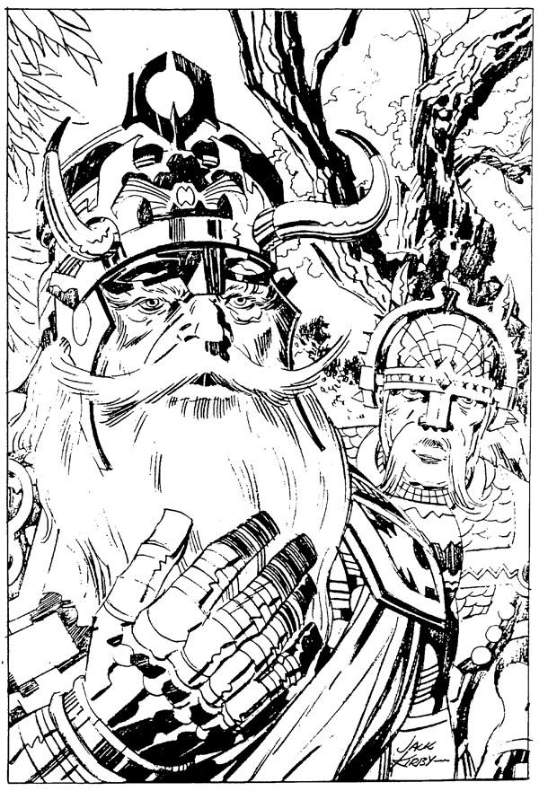 Marvelmania Portfolio: Odin