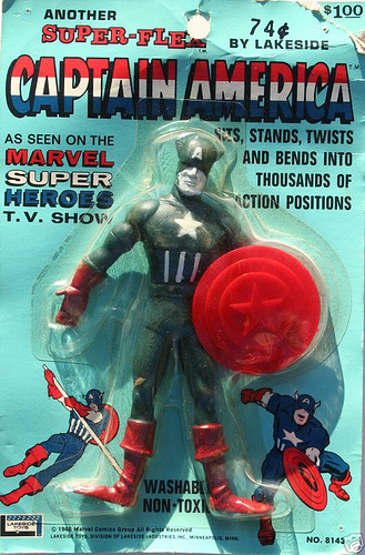 16a8e7d095a Hysterical local TV host for the cartoons with better costume than the  movie Cap – Find this baby!!!