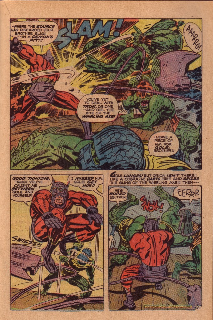 Deep Six - Jack Kirby, New Gods #6