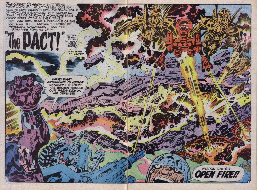 War - Jack Kirby, New Gods #7