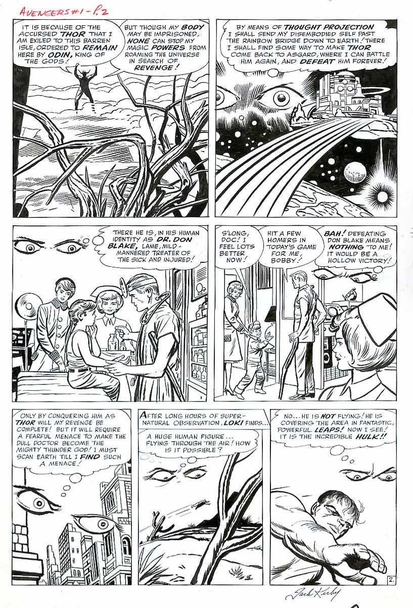 Avengers #1 pg 2
