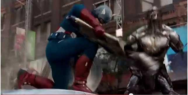 Avengers film Cap