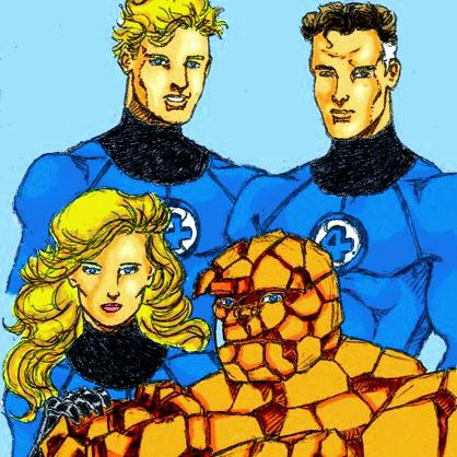 Fantastic Four Sketch 15[1]
