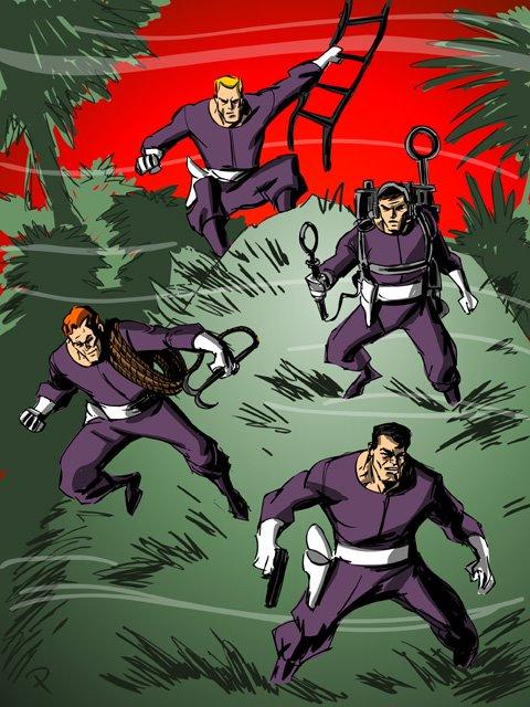 """[Animation 4ML] """"Ici Nightwing. J'appelle d'Ivy Town... une Héroïne vient de disparaître, comme Superman.  Aidez-moi !"""" [LIBRE] Challs1"""