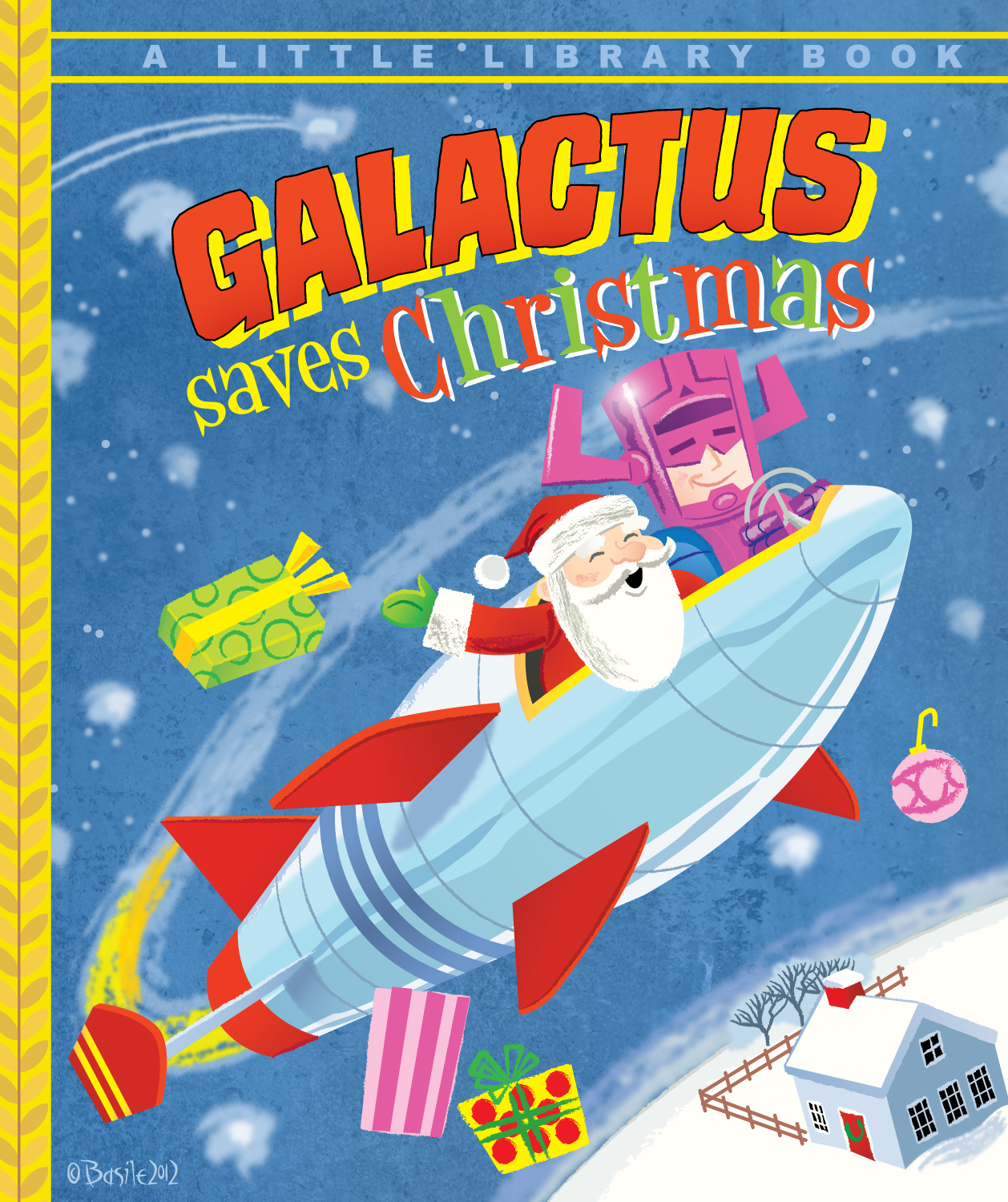 GALACTUS SAVES CHRISTMAS