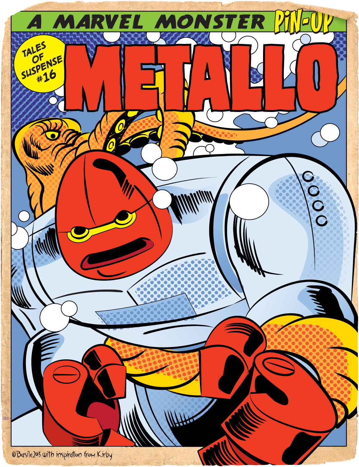 TALES OF SUSPENSE METALLO