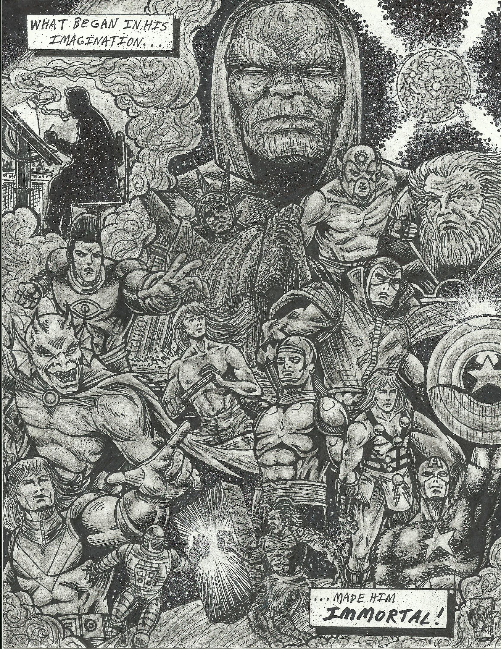 Jack Kirby-The Man Who Would Be KING!!!