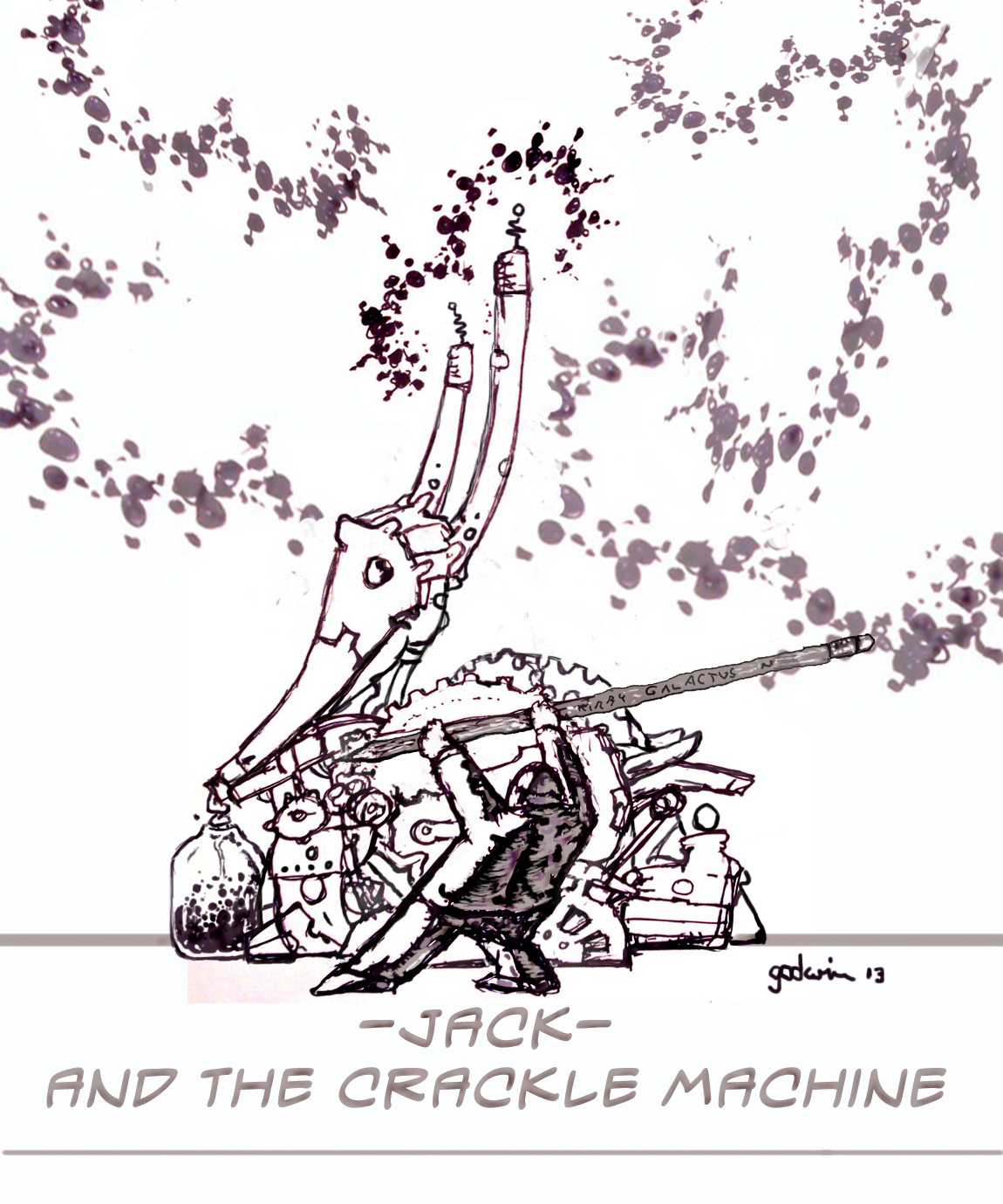 Jack and thecrackle machine