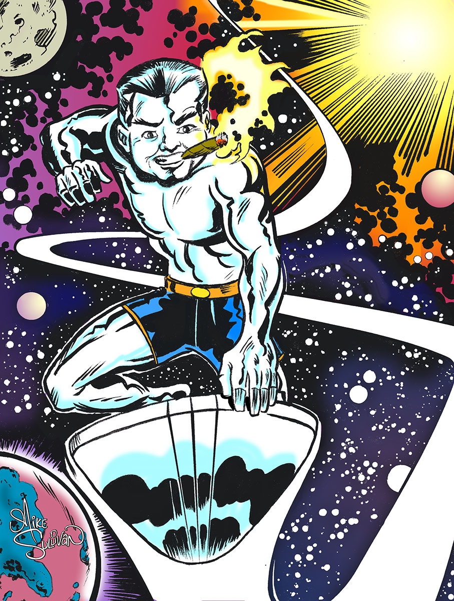 jack kirby 96 birthday colors