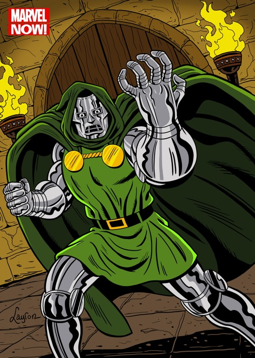 Dr DOOM color LT