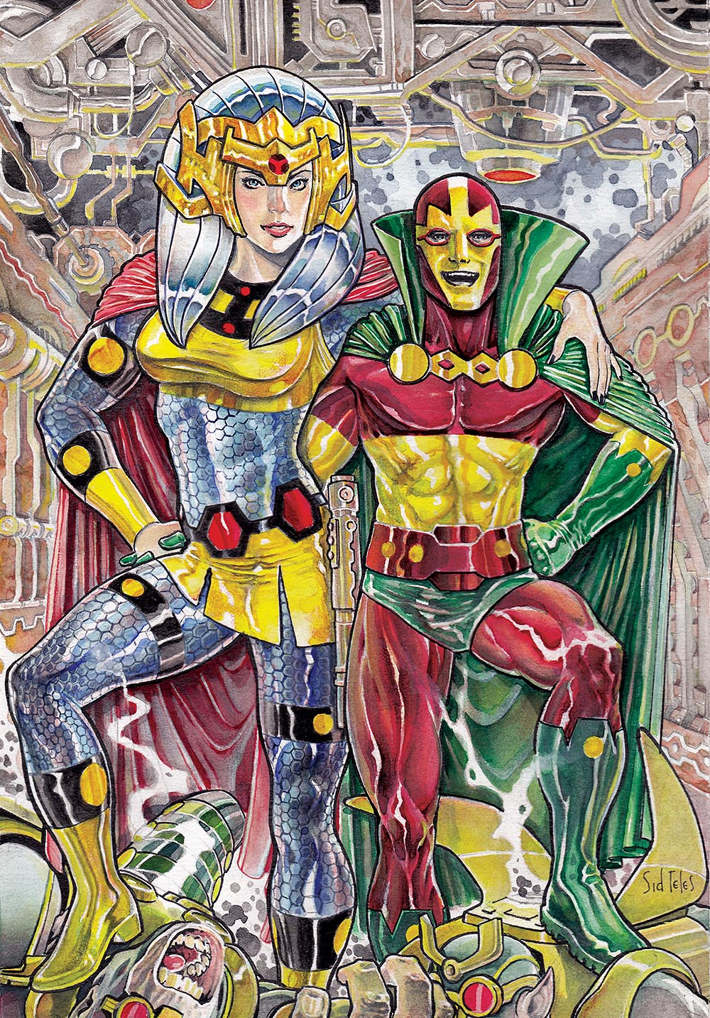 Barda and Mr Miracle_Sid
