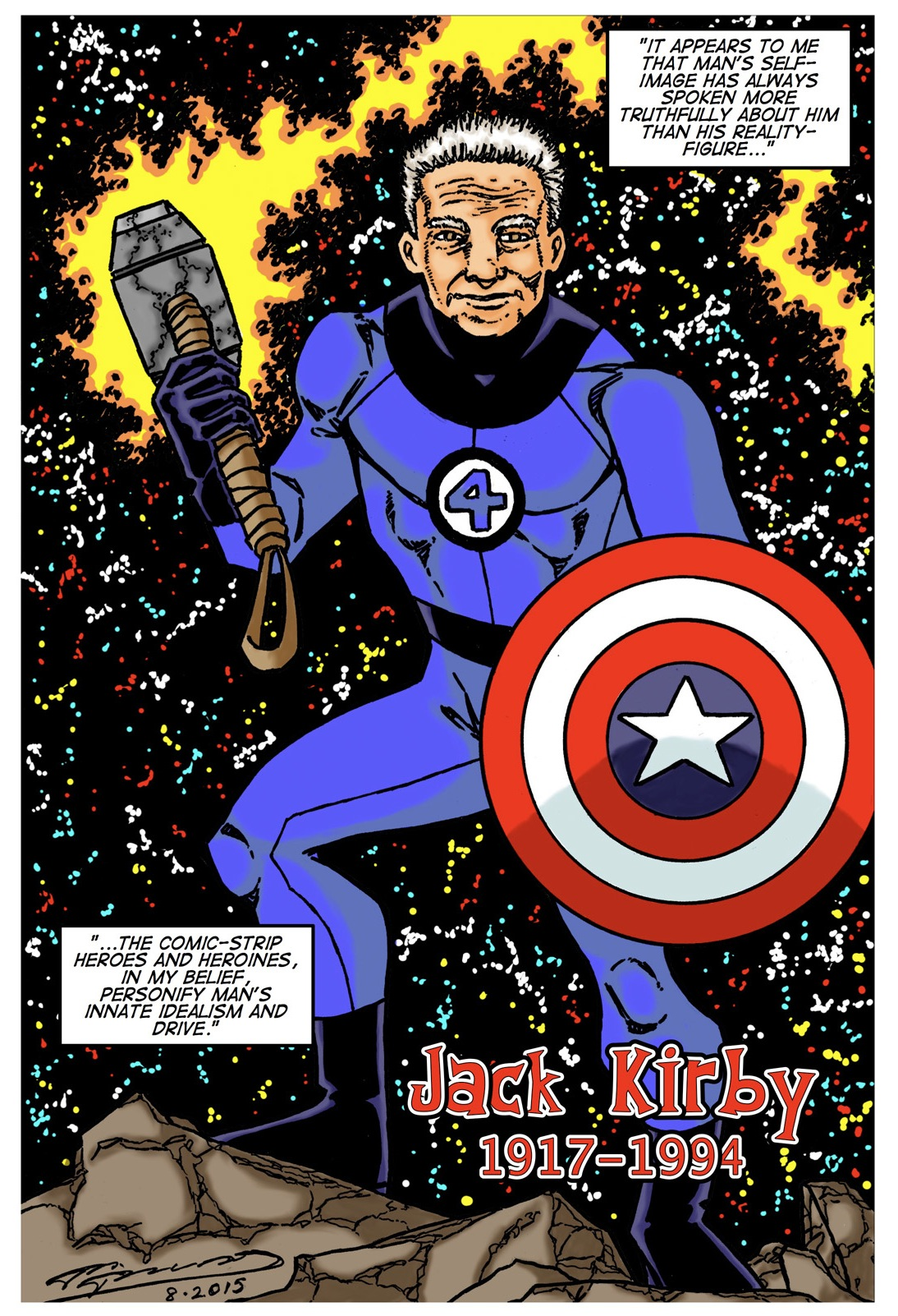 Kirby 2015 Color Lettered 150