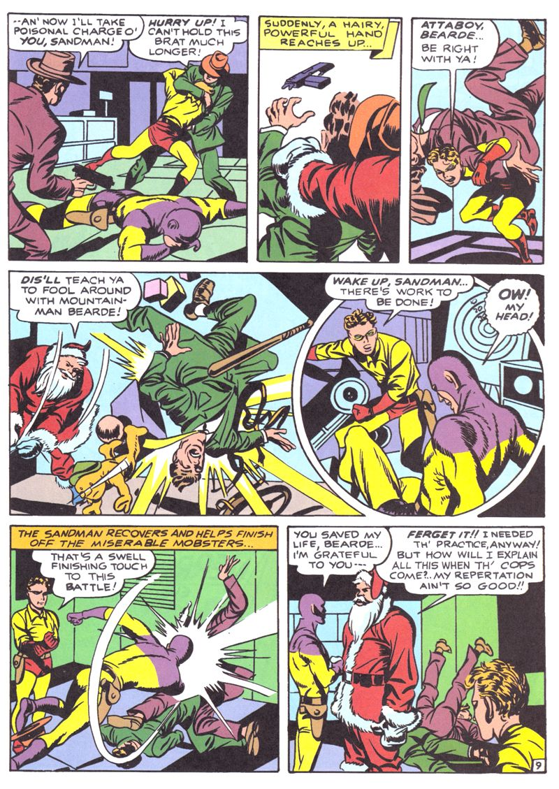 A DC Universe Christmas [2000]   Jack Kirby Comics Weblog
