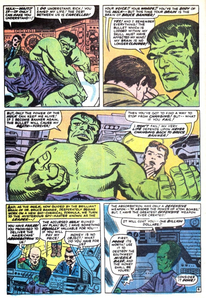 The Incredible Hulk Special #3 [1971]