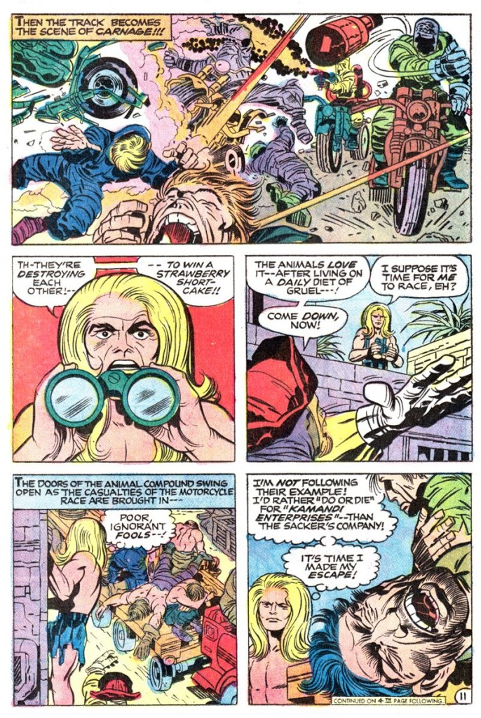 Kamandi, The Last Boy On Earth #13 [1974]