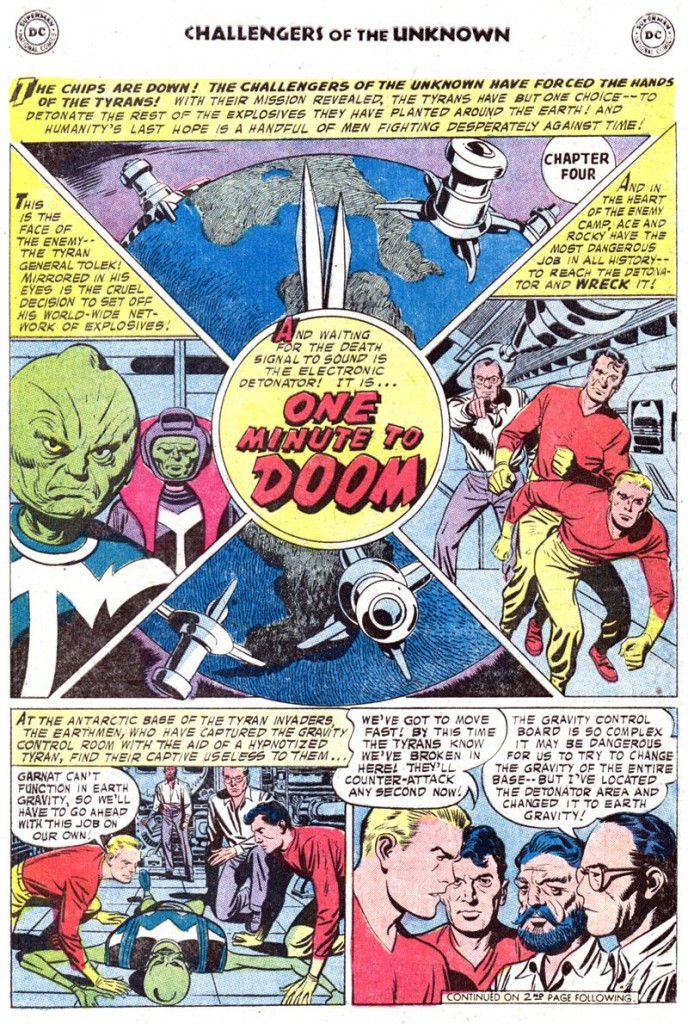 Challengers Of The Unknown #80 [1973]