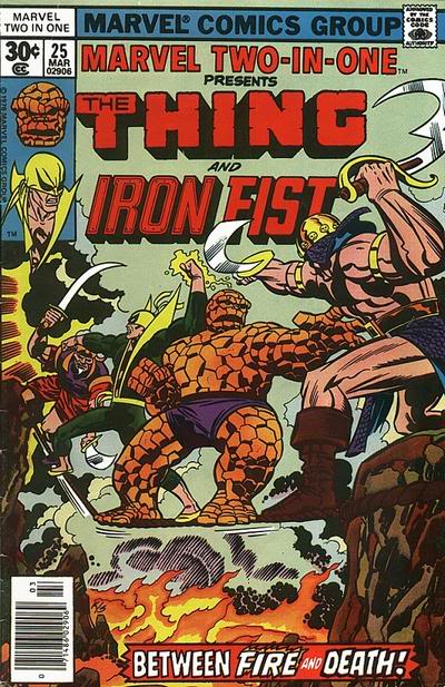 Marvel Two-In-One #25