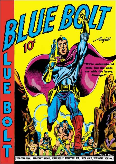 Blue Bolt #3