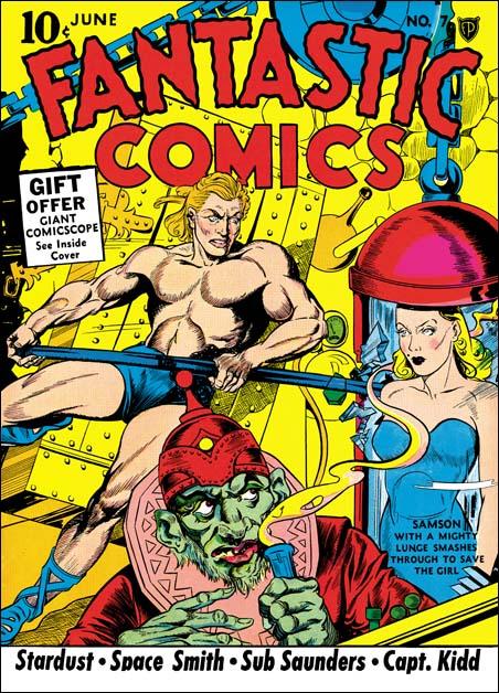 Fantastic Comics #7