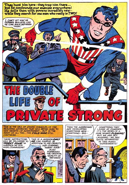 Double Life of Private Strong