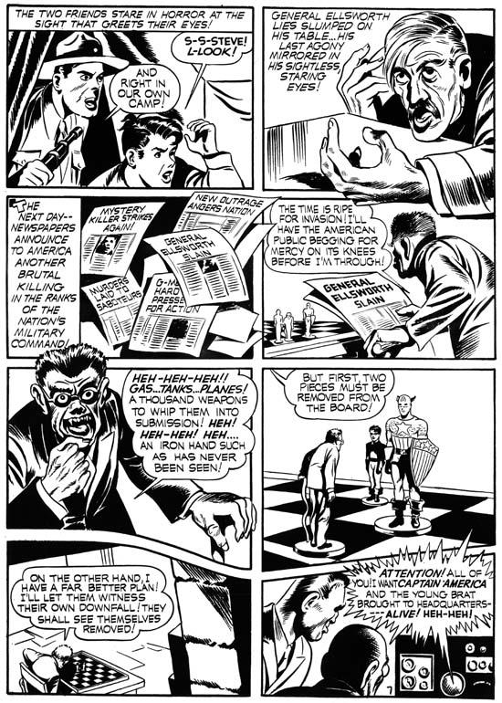 Captain America Comics 1 March 1941 Captain America 1 March