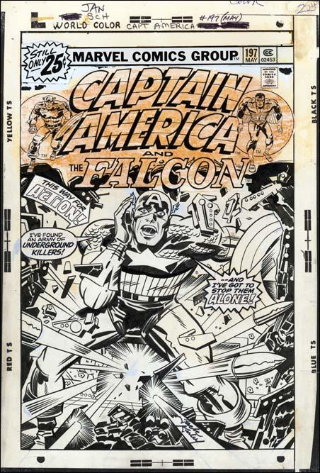 Captain America #197