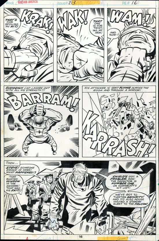 Captain America #213