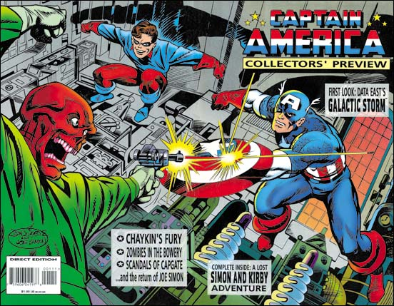 Captain America Collector's Preview