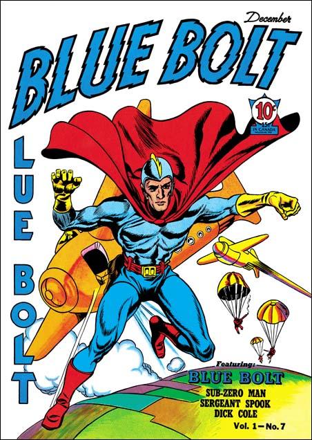 Blue Bolt #7