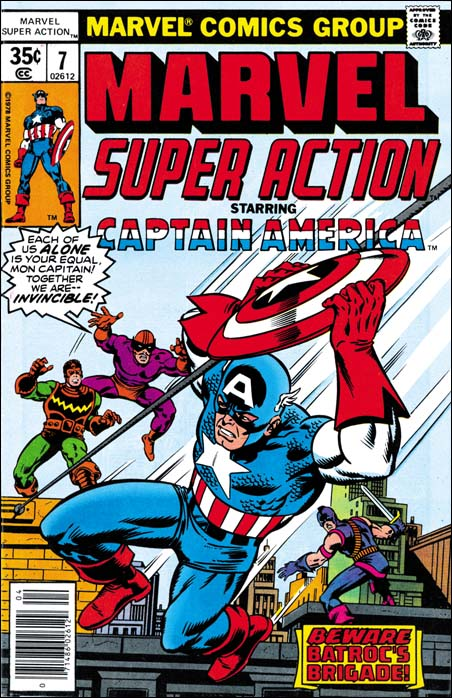 Marvel Super Action #7