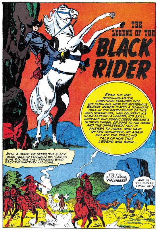 Black Rider Rides Again #1