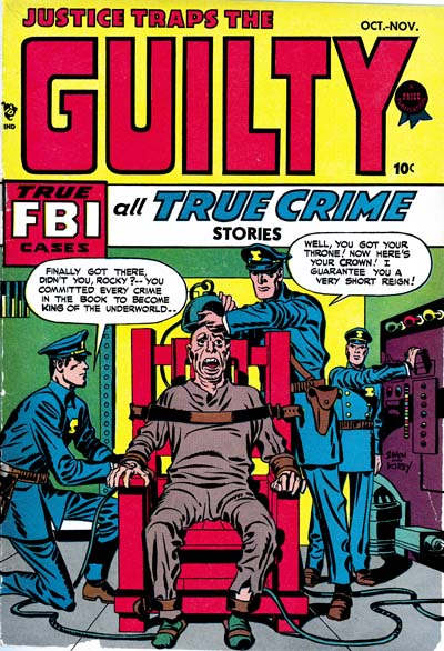 Justice Traps The Guilty #1