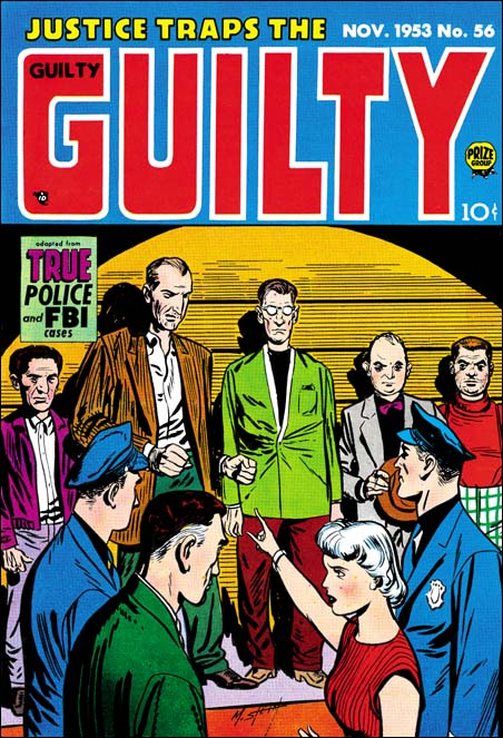 Justice Traps the Guilty #56