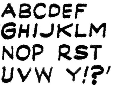 Letters Headline #24