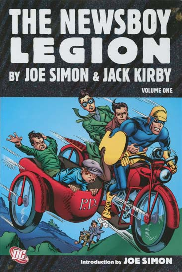 The Newsboy Legion, volume 1