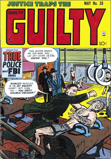 Justice Traps the Guilty #38