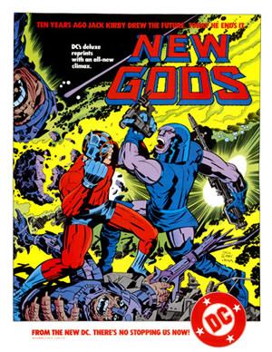 1984 - New Gods poster